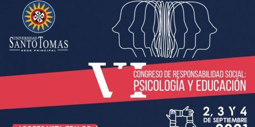 Convocatoria para postulación de trabajos - VI Congreso de Responsabilidad Social: Psicología y Educación